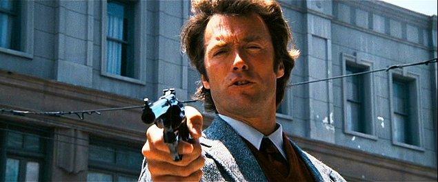 Kirli Adam (1971)  Dirty Harry diye tanınan Harry Callahan, çok zorlu bir San Fransisco polisidir. Bir çatı tetikçisi, iki kez cinayet işlemiştir ve tüm şehri tehdit etmektedir. Harry onu er geç yakalayacaktır.