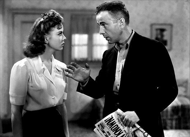 High Sierra (1941)  Dolandırıcılıktan hüküm giymiş olan Roy Earle, hapishaneden çıkar çıkmaz yine kirli işlerine geri döner. Suç patronu Big Mac, bir kumarhaneye saldırı planlamaktadır ve yanında ona yardım edebilecek, ekibi yönetecek deneyimli birilerine ihtiyacı vardır. Red ve Babe bu iş için doğru adamlardır. Ancak yolculuk sırasında tanıştığı Velma ve Babe'in kız arkadaşı olarak tanıdığı eski bir dansçı olan Marie'nin ekibe plansız dahil olmasıyla huzursuzluklar baş gösterir.
