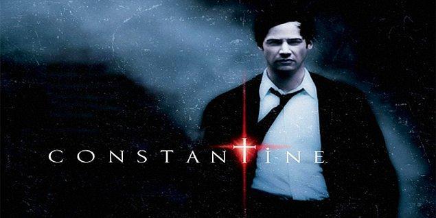 Constantine (2005)  Angela Dodson, ikiz kız kardeşi Isabel'in ölümünün bir intihar olmadığını kanıtlayabilmek için özel dedektif John Constantine'den yardım ister. Ölen kadın dindar bir Katoliktir ve Angela, onun kendi canına kıymış olmasına ihtimal vermemektedir. John, şeytan avlayıp, onları ait oldukları yere gönderen, mistik güçler konusunda ün sahibi bir kişidir. John, vaktiyle intihara teşebbüs ederek cehenneme gitmiştir.