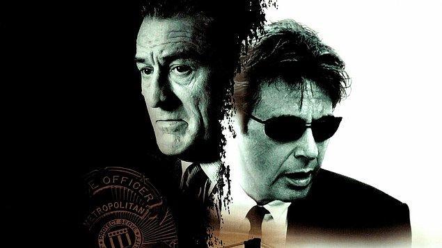 Büyük Hesaplaşma (1995)  Gerek içgüdüleri gerekse üstün zekasıyla, içerisinde bulunduğu her türlü suçtan arkasında kesin deliller bırakmadan, başarılı bir şekilde sıyrılmayı başaran Neil McCauley profesyonel bir hırsızdır. En az kendisi kadar yetkin hırsızlardan oluşturduğu çetesiyle altından kalkılması zor işlere kalkışıp minimuma yakın hasarla başarıya ulaşır. Her azılı suç filminde olduğu gibi söz konusu hırsızın peşinde de hırslı ve takıntılı bir dedektif vardır. Dedektif Hana, şimdiye dek bu usta hırsızın zekasıyla başa çıkamasa da davayı çözmekte kararlıdır.