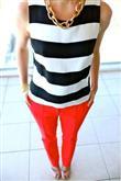 Renkli Pantolon Kombin Önerileri - 22