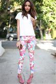 Renkli Pantolon Kombin Önerileri - 23