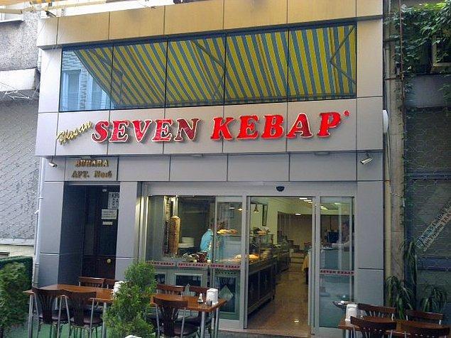 Seven Kebap  Önden gelen pide ve tereyağı, mevsim salata ve acılı ezme servisi bile karın doyurmaya yetecek boyutta ve lezzettedir. Fiyatları da ortalamaya göre uygundur. Sade, yalın ve sıradan görünümlü mekanda yiyeceğiniz dürüm ve beytinin lezzetini unutamayacaksınız.   Adres: Osmanağa Mahallesi, Leylak Sokak, No 6/A, Kadıköy, İstanbul