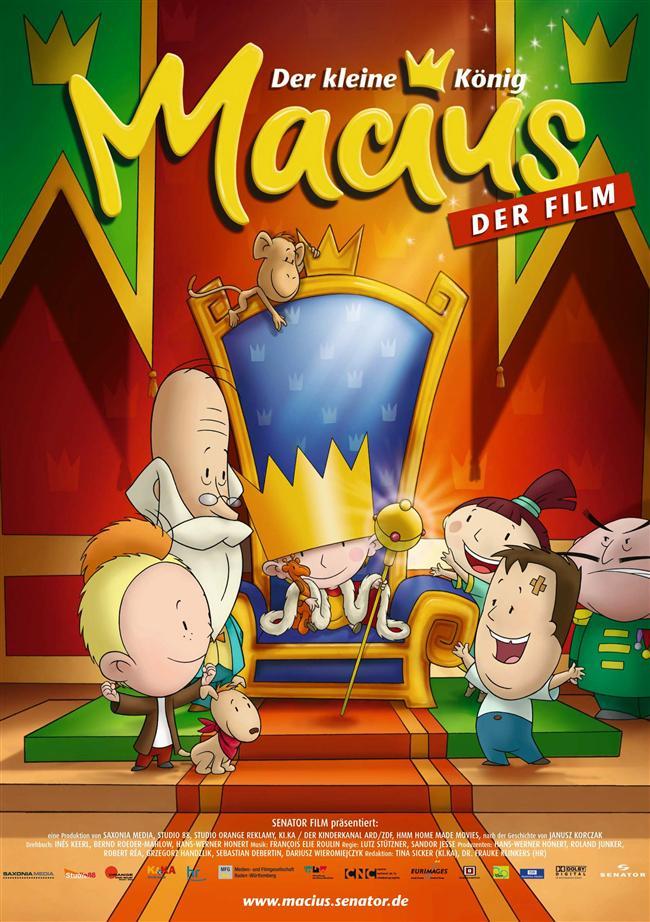 Küçük Kral  Sandor Jesse ve Lutz Stützner'in yönetmenliğini üstlendiği animasyonun seslendirme kadrosunda Paul Falk, Otto Sander, Jamie Lee Blank bulunuyor.