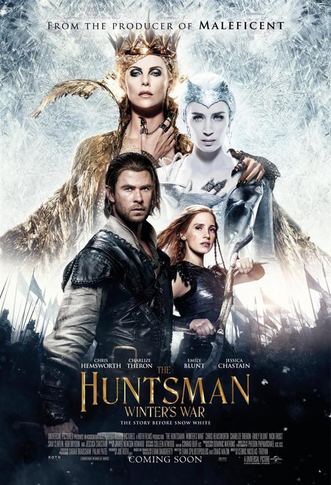 Avcı: Kış Savaşı  Seriye yeni dahil olan Emily Blunt'un Buz Kraliçesi'ni Jessica Chastain'ın ise savaşçıyı canlandıracağı yapımda ilk filmin avcısı Chris Hemsworth ve kötü kraliçesi Charlize Theron rolleri için tekrar kamera karşısına geçiyor. Film, gücünü kaybeden kardeşi Ravenna'yı (Theron) diriltmek için sihirli aynanın peşine düşen Buz Kraliçesi ile Chris Hemsworth ile güçlerini birleştiren bir diğer avcı Jessica Chastain'ın arasında geçen mücadeleyi işleyecek. Aynayı geri almak için bir avcı birliğini görevlendiren kraliçeye karşı iki iyi kalpli avcı güç birliği yapacak.
