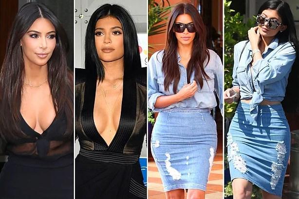 Ablası Kim Kardashian'ın izinden gittiği ve onu kopyaladığı hep konuşuluyordu.