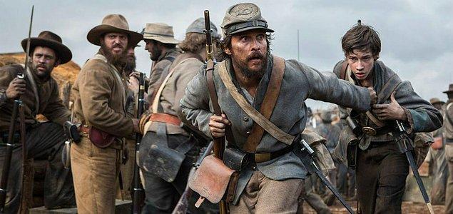 Free State of Jones (13 Mayıs 2016)  Yönetmenliğini Gavin Ross'un üstlendiği film, Lincoln döneminde patlak veren Sivil Savaş'ı perdeye aktarıyor. Filmin başrolündeyse Matthew McConaughey yer alıyor.