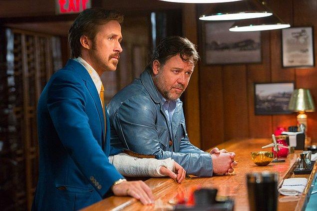 The Nice Guys / İyi Adamlar (20 Mayıs 2016)  1970'lerin atmosferini perdeye taşıyacak bir gerilim çeşitlemesi olan filmde, çaptan düşmüş bir porno yıldızının cinayet soruşturması ön plana alınacak. Fimin başrollerini Ryan Gosling ve Russell Crowe paylaşırken, yönetmen ise Shane Black.