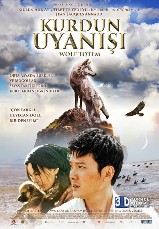 Kurdun Uyanışı  1967 yılında Beijing'ten gelen Chen isimli genç bir öğrenci, Moğolistan'da yaşayan bir grup sürü çobanıyla yaşaması ve onları eğitmesi için gönderilir. Bu yolculuk, şehir yaşamından sıyrılıp doğayla başbaşa kalacağı ve hayatı ilk kez doğanın kurallarına birebir şahit olarak yaşayacağı benzersiz bir deneyim olur. Özgürlük, sorumluluk, korku gibi kavramların gerçek anlamlarıyla tanışır ve bu geleneksel kabile yaşamında vahşi kurtlar ile insanlar arasında gelişmekte olan şaşırtıcı ilişkiye tanık olur. Ancak tam da bu dönemde bir sorun patlak verir: Bir hükümet görevlisi bölgedeki kurtları yok etmek amacıyla bölgeye gelmiştir...