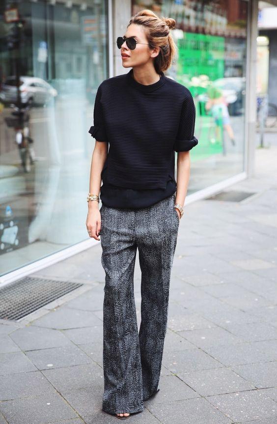 Bol Paça Trend Bayan Pantolon Modelleri