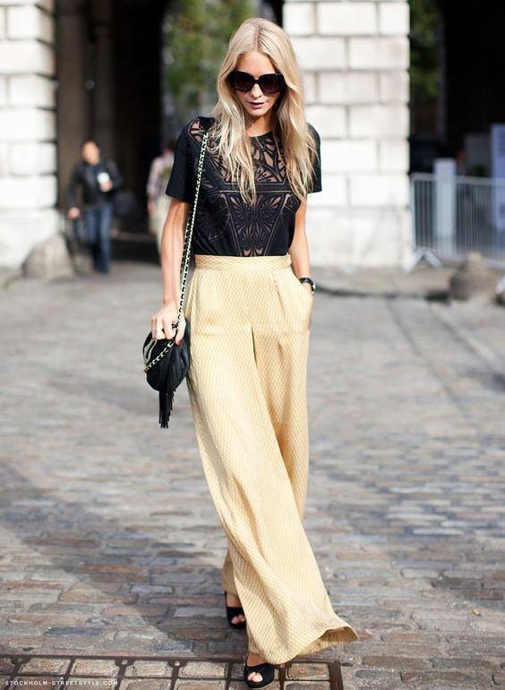 Bol Kadın Pantolon Modelleri ve Kombinleri