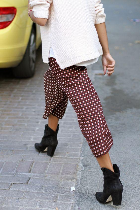 Bol Paça Kadın Pantolon Modelleri