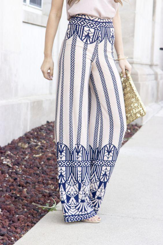 Trend Bol Kesim Bayan Pantolon Modelleri
