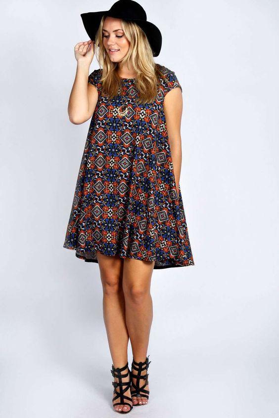 En Tatlı Diz Üstü Elbise Modelleri - 7