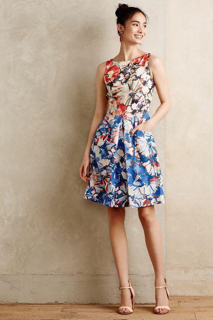 En Tatlı Diz Üstü Elbise Modelleri - 11