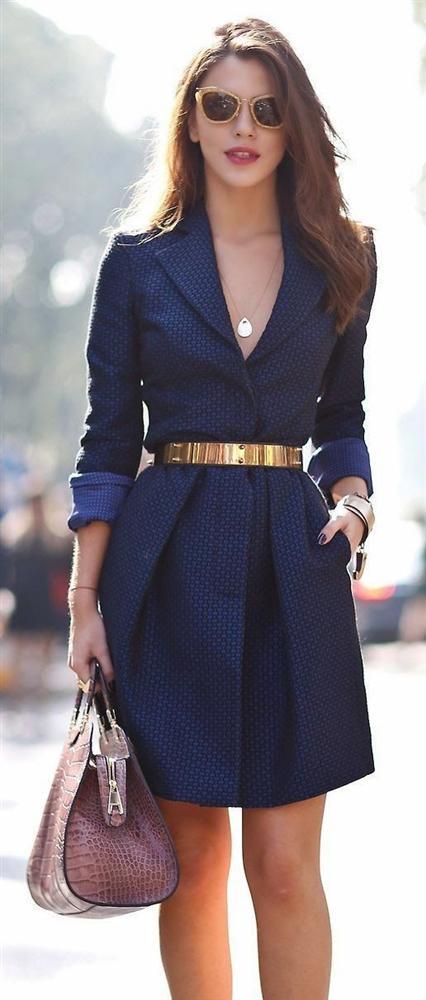 En Tatlı Diz Üstü Elbise Modelleri - 12