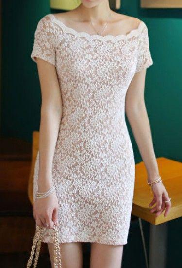 En Tatlı Diz Üstü Elbise Modelleri - 14