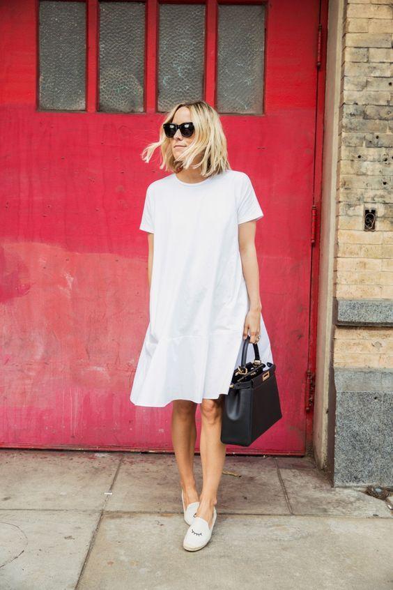 En Tatlı Diz Üstü Elbise Modelleri - 15