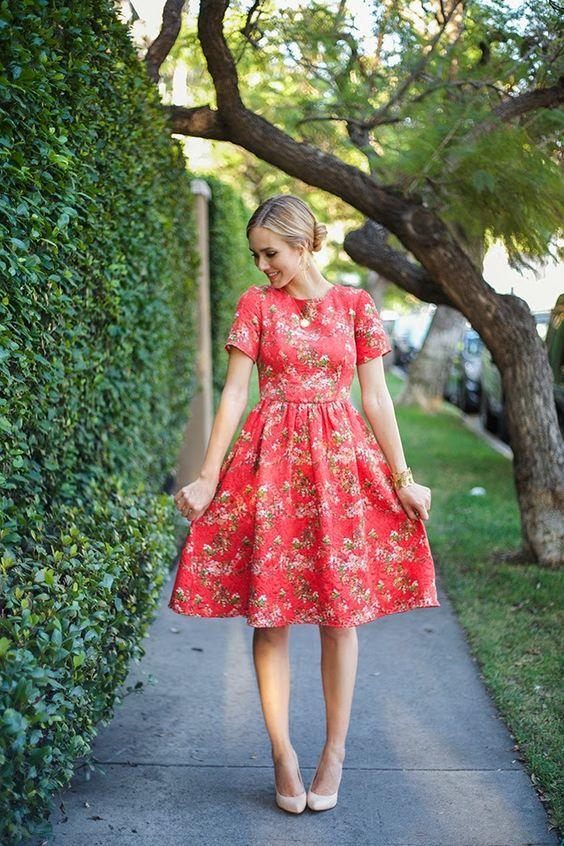 En Tatlı Diz Üstü Elbise Modelleri - 18