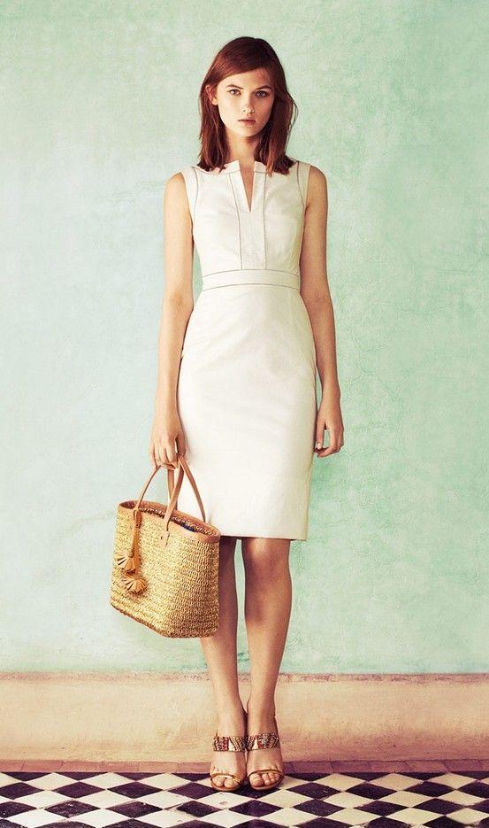En Tatlı Diz Üstü Elbise Modelleri - 19