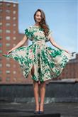 En Tatlı Diz Üstü Elbise Modelleri - 10