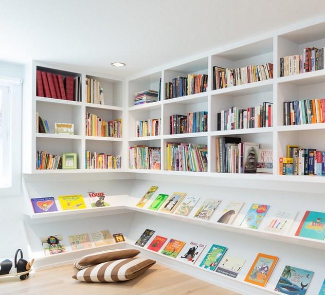 Yaptıracağınız kitaplığı aydınlık bir duvara monte edebilir ve hemen kitaplığın önüne iki adet puf koyarak kendinize ait sıcak bir ortam yaratabilirsiniz. Ya da çalışma masanızın etrafındaki duvarları kullanarak kütüphanenizi oluşturabilirsiniz.