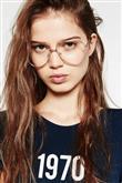 Mikro Trend: Damla Çerçeveli Gözlük - 1