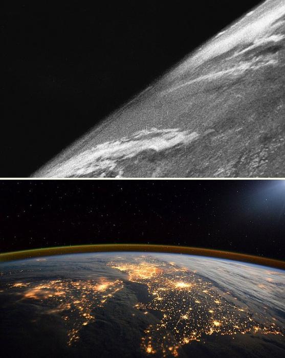 Dünya'nın uzaydan görüntüsü - 1946 / 2016Dünya'nın uzaydan görüntüsü - 1946 / 2016