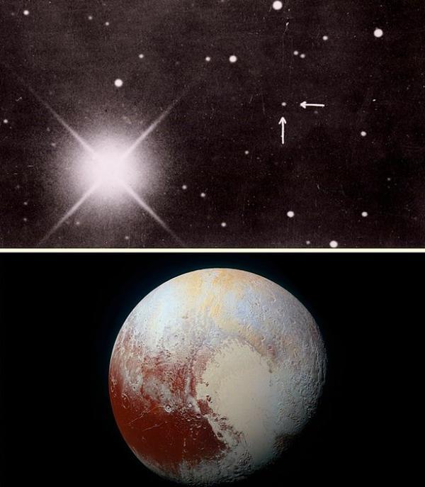 Plüton'un fotoğrafı - 1930 / 2015