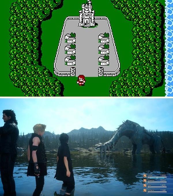 Final Fantasy - 1987 / 2016
