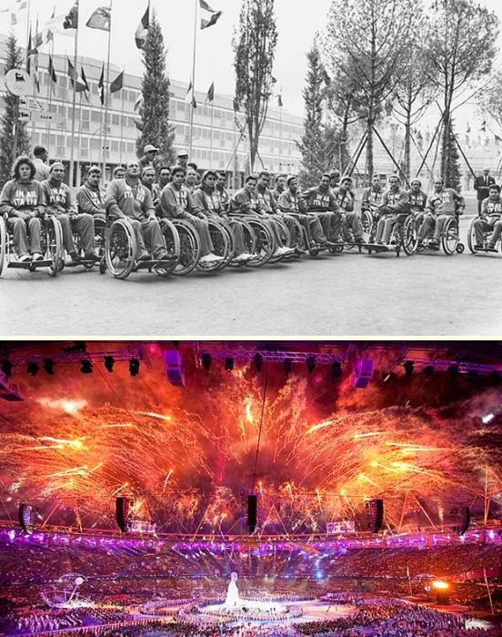 İlk Paralimpik Oyunlar 1960 / Londra Paralimpik Oyunları 2012