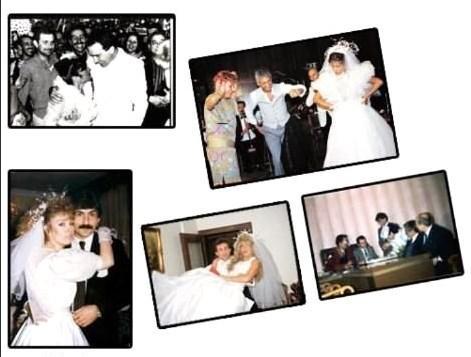 Hepsi bir ömür boyu mutluluğa 'evet' demek için nikah masasına oturdu. Ancak peri masalı gibi başlayan aşk, mutsuz bir sonla bitti. Ama onlar, mutluluğu tekrar tekrar nikah masasında aradı… Bu hafta evlilik konusunda adeta birbirleriyle yarışan ünlüleri derledik…   41 yıllık Hafta Sonu'nun tozlu arşivlerini karıştırarak sizlere gerçek rekortmenleri bulduk. Işte nikah tiryakisi 10 ünlü...