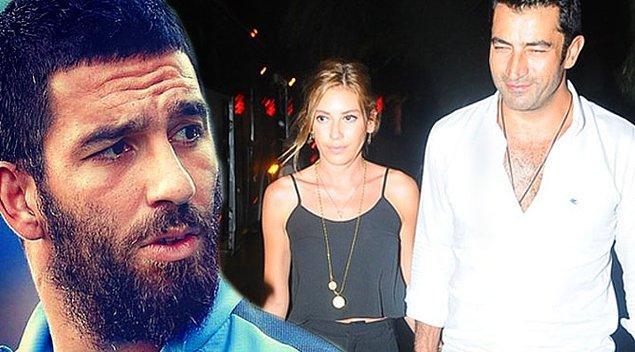 """Arda Turan da """"abi"""" dediği Kenan İmirzalıoğlu'na eski sevgilisi Sinem Kobal ile çıktığı için küstü; hatta arkasından çok ağır sözler bile sarf etmiş!  Hayat işte!"""
