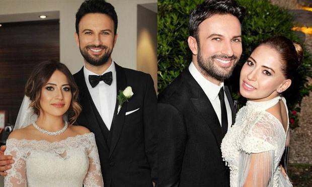 Çift, 9 Nisan Cuma günü Tarkan'ın Tarabya'daki lüks villasının bahçesinde gerçekleşen tören ile dünya evine girdi.