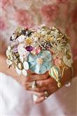 Takılardan Yapılmış Gelin Çiçekleri - 2