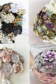 Takılardan Yapılmış Gelin Çiçekleri - 21