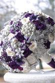 Takılardan Yapılmış Gelin Çiçekleri - 9