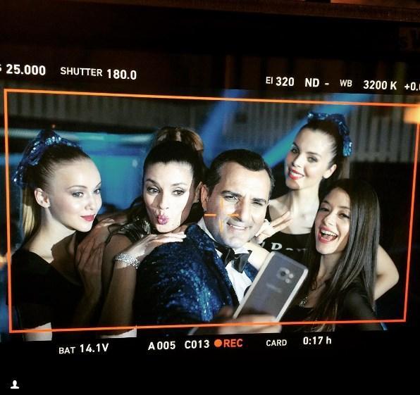 Rafet El Roman  Samsung cep telefonu S7 Reklam filmleri için bir araya geldik..