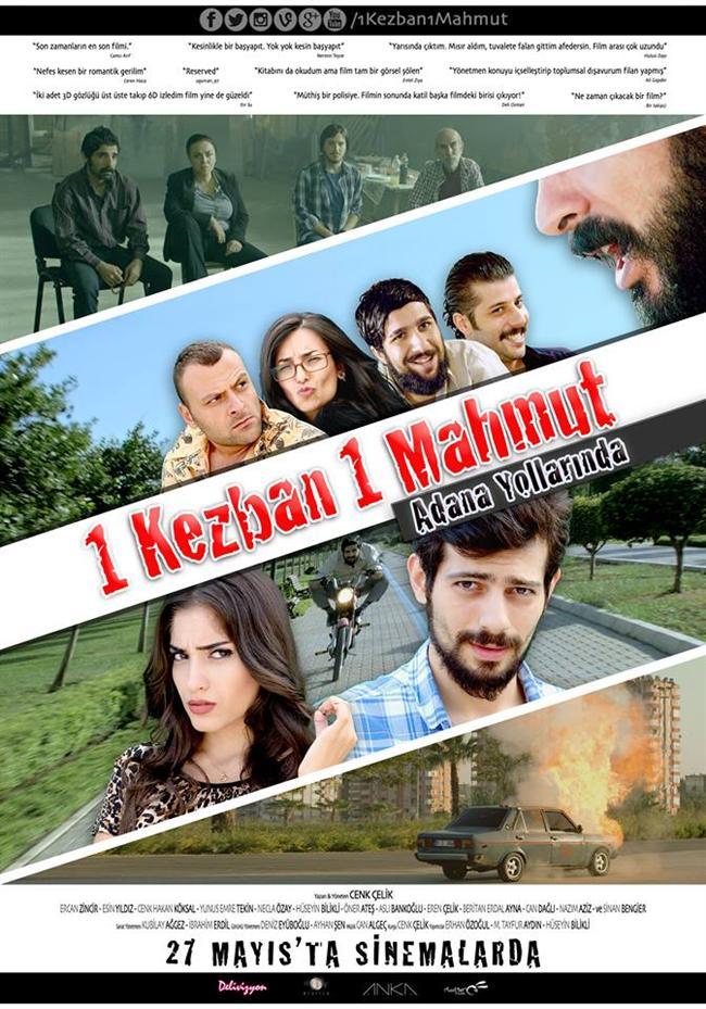"""1 Kezban 1 Mahmut: Adana Yollarında  Mahmut ve Emrah, İstanbul'daki öğrencilik hayatı yaşayan iki yakın arkadaştır. Mahmut bir gün sevgilisi Kezban'ı kaçırmaya karar verir çünkü Kezban'ın abisi Kürşat ilişkilerine onay vermemektedir. Emrah ailesinin Mersin'deki yazlığını ayarlar ve sevgilisi Yaprak'ı da yanına alır. Hep beraber Şahin marka modifiyeli arabalarıyla Mersin'e kaçarlar. Yazlıkta eğlenceli zaman geçiren gençlerin eğlencesi uzun sürmez. Mahmut ve Emrah bir sabah sitenin sahilinde uyanırlar. Kızlar kaçırılmıştır. İki arkadaş kızların izini sürmeye başlar ve Adana'ya ulaşırlar. Adanalı Serkan'ın da ekibe dahil olmasıyla kızları kurtarmak için bir plan yapılır: Adana'nın farklı yerlerinden toplayacakları """"özel"""" insanlardan oluşan bir ekip kurarak kızları tekrar kaçırmak! """"Usta"""" bir şoför, """"yetenekli"""" bir hacker, """"çevik"""" bir karateci ve """"silahlı"""" bir adam bulunur. """"Kusursuz"""" bir plan, """"uzman"""" bir ekip ve son dakika sürprizleri ile aksiyon ve komedi dolu bir maceraya atılırlar."""