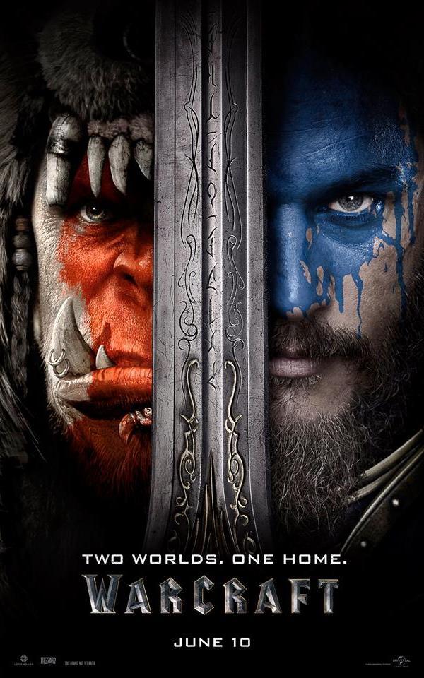 Warcraft: İki Dünyanın İlk Karşılaşması  World of Warcraft oyununun sinema filmi olan yapım farklı ırkların karşı karşıya geldiği fantastik bir dünyayı beyazperdeye taşıyor. Ork savaşçılarının ülkeleri yok olmuştur ve hayatta kalanlar yeni bir koloni oluşturmak amacıyla, Azeroth krallığının eteklerine gelirler.  Azeroth krallığı barışçıl ortamdan yana olsa da eşikteki bu savaş kaçınılmazdır. İki dünyayı birleştiren kapı açıldığında, bir ordu yıkım bekler, diğeri de yok olma ihtimaliyle karşı karşıyadır. Bu karşıt gruplardan iki kahraman, ailelerinin, halklarının ve ülkelerinin kaderini belirleyecek bir çatışma yoluna girerler. Filmin yönetmenliğini Moon filmiyle sinemaya esaslı bir giriş yapan, genç neslin umut vaadeden yönetmenlerinden Duncan Jones yer alırken, oyuncu kadrosunda ise  Travis Fimmel, Paula Patton, Ben Foster, Dominic Cooper, Toby Kebbell, Ben Schnetzer, Rob Kazinsky ve Daniel W isimleri yer alıyor. Filmin yapımcıları ise Legendary Pictures, Blizzard Entertainment ve Atlas Entertainment firmaları.