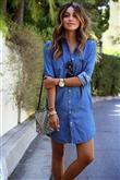 Gömlek Elbise Kombin Önerileri - 11