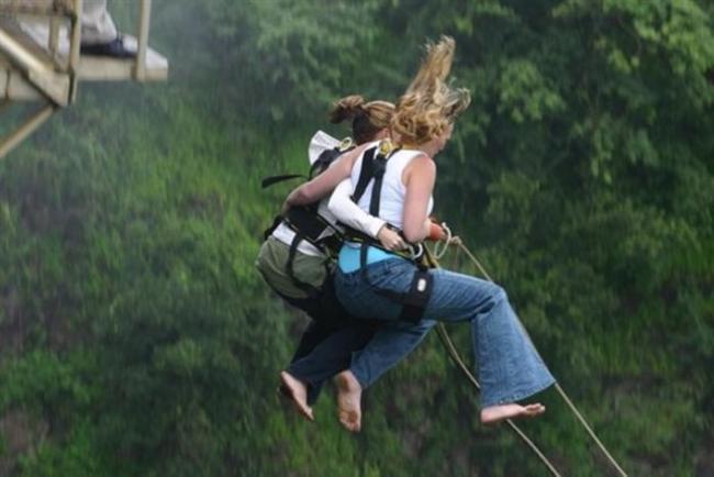 Bungee Jumping yapabilirsiniz.