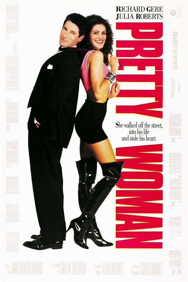 Pretty Woman – Özel Bir Kadın - 1990  Vivian Ward, çok şanssız bir sokak kadınıdır. Ancak bu kötü şans onu yakışıklı, çok başarılı ve ünlü bir işadamı olan Edward Lewis ile karşılaştırır. İkili, Lewis'in Los Angeles'tan ayrılıp New York'a geri döneceği 1 hafta boyunca birlikte zaman geçirecektir. Ancak para karşılığı yapılan bu anlaşmaya günler ilerledikçe duyguları da karışmaya başlayacaktır.