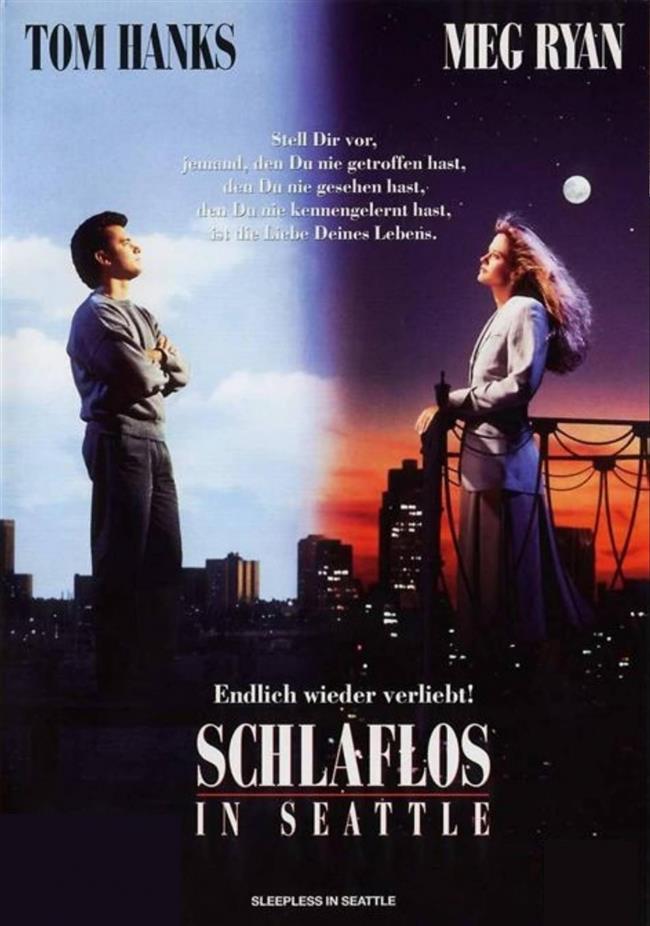 Sleepless In Seattle – Sevginin Bağladıkları – 1993   Eşini kaybetmiş Sam Baldwin, oğlu Jonah ile birlikte sakin bir hayat sürmektedir. Ulusal bir radyo kanalında yayın yapmaya başlayınca hayatında bazı değişiklikler olacaktır; çok sayıda kadın hayrana sahip olmak gibi... Sam'in yaşadığı yerden hayli uzak olan Annie de Sam'in hayranlarından biridir. Evlenmek üzere olduğu halde kafası bu konuyla ilgili karışık olan Annie, Sam'e göndermeyeceğini bildiği bir mektup yazar. Ardından dayanamaz ve etkilendiği bu erkekle tanışmaya karar verir.