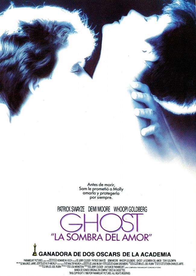 """Ghost – Hayalet – 1990   Sam ve Molly birbirlerine delicesine aşık bir çift. Yeni bir apartmana taşınan çift, yolda serseriler tarafından saldırıya uğruyor ve Sam kavga sırasında öldürülüyor. Ancak Sam bir hayalet olarak yaşamayı sürdürüyor ve sevgilisini tehlikelerden uzak tutmak ve kendi ölümünü planlayanları bulmak için işin inceliklerini öğrenmeye başlıyor. Bu arada insanlarla bir falcı aracılığıyla iletişim kurmayı başaran Sam, adım adım """"öteki dünyaya"""" ilerlerken Molly'e daha çok aşık olmaktan kendisini alamıyor.  Hazırlayan: İrem Peçel"""