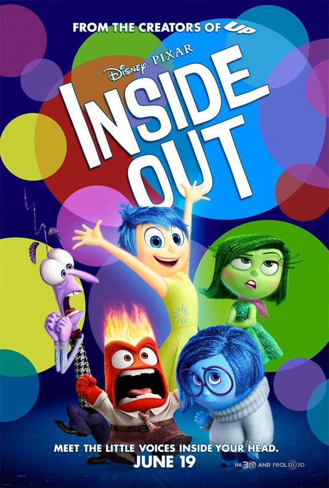 Inside Out – Ters Yüz – 2015  İşte karşınızda Disney'in herkesin beğenisini kazanan yeni bir filmi daha! Hiç duygularınızın da duyguları olduğunu düşündünüz mü? İşte bu film tam da bununla ilgili! Neşe, Öfke, Korku, Tiksinti ve Üzüntü gibi duygularımızın başrolleri üstlendiği bu filmde karakterlere dışarıdan değil içeriden göz atacaksınız. 2016 yılı En İyi Animasyon Filmi Oscar'ı ve Altın Küre En İyi Animasyon Filmi ödülü yanında daha birçok diğer ödüle de adını yazdıran bu filmi mutlaka izlemelisiniz!