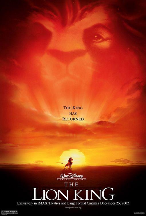 """Lion King – Aslan Kral – 1994   Eski fakat bir o kadar da kült bir animasyon film ile karşı karşıyayız! Aslan Kral bir çocuğumuzun çocukluk ve gençlik çağlarında izlediği hem ağlatan hem de güldüren tam bir Disney filmi! Ünlü sahneleri birçok dizi ve filmde yeniden canlandırılmış, ünlü şarkısı ve sözü """"Hakuna Matata"""" birçoğumuzun diline pelesenk olmuştu. Herkesin mutlaka izlemesi gereken bir animasyon filmi olan Aslan Kral, Afrika'nın vahşi ormanlarında doğan bir aslan yavrusu ve onun maceralarını konu alıyor."""
