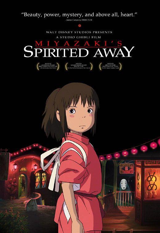 Spirited Away – Ruhların Kaçışı – 2001   Diliyle, çizgileriyle alışık olduğumuz animasyon filmlerinden biraz daha farklı fakat bir o kadar da güzel bir film Ruhların Kaçışı. Japonya'nın en saygın ve en ünlü animasyon stüdyosu Studio Ghibli'nin dünyaca tanınan yönetmeni Hayao Miyazaki'nin çok sevilen filmi küçük bir kızın maceraları üzerine kurulu. Babasının işi nedeniyle yeni bir şehre taşınmak zorunda kalan 10 yaşındaki Chihiro bu duruma çok üzülmektedir. Fakat bu yolculuk hiç ummadığı kadar ilginçliklerle dolu olacaktır. Farklı bir tat arayanlar için ideal bir film!