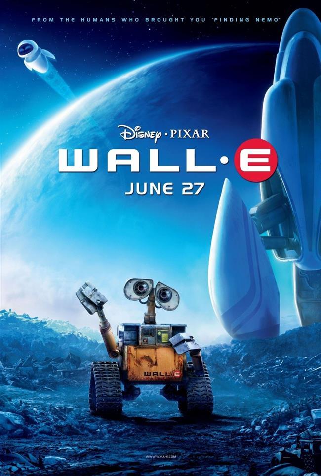 Wall-e - Vol-i – 2008  Uzak bir gelecekte tüketim çılgınlığının yarattığı çöp yığını yüzünden yaşanmaz hale gelen Dünya,  insanlar tarafından terk edilmiştir. Birkaç yıl içinde gezegene geri dönebilmek umudu ile insanlar, Dünya'nın temizliği ile görevlendirdiği robotları ardında bırakmıştır. Fakat her nasıl olduysa o robotlardan geriye yalnızca WALL-E kalmıştır. Evcil hayvanı hamam böceği ve çöpler arasında ilgisini çeken eşyaları biriktirdiği koleksiyonu haricinde başka hiçbir eğlencesi olamayan WALL-E gezegen üzerinde yapayalnızdır. Ta ki bir gün araştırma robotu EVEE çıkıp gelene kadar! EVEE'nin gelişi ile WALL-E'nin hayatı artık eskisi gibi olmayacaktır...