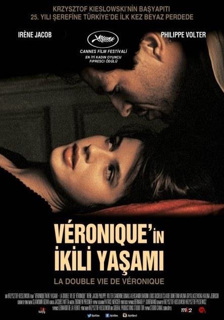 Véronique'in İkili Yaşamı  - La Double Vie De Veronique   Genç ve güzel Véronique Paris'te yaşar; genç ve güzel Weronika ise Varşova'da. Ortak hiçbir noktaları yoktur ve hiç tanışmamışlardır. Ama aynı adı taşıyan bu iki kadın, birbirlerinin tıpatıp benzeridir. Başarı, ölüm ve aşk dolu hayatlarını birbirlerinden habersiz ama yine de varlıklarını gizemli biçimde hissederek yaşarlar. Krzysztof Kieślowski'nin en önemli filmlerinden olan Véronique'in İkili Yaşamı, çekilmesinden 25 yıl sonra 12 Ağustos 2016'da Türkiye'de ilk kez gösterime giriyor.